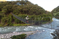 DOC must love suspension bridges. They were all over the place.