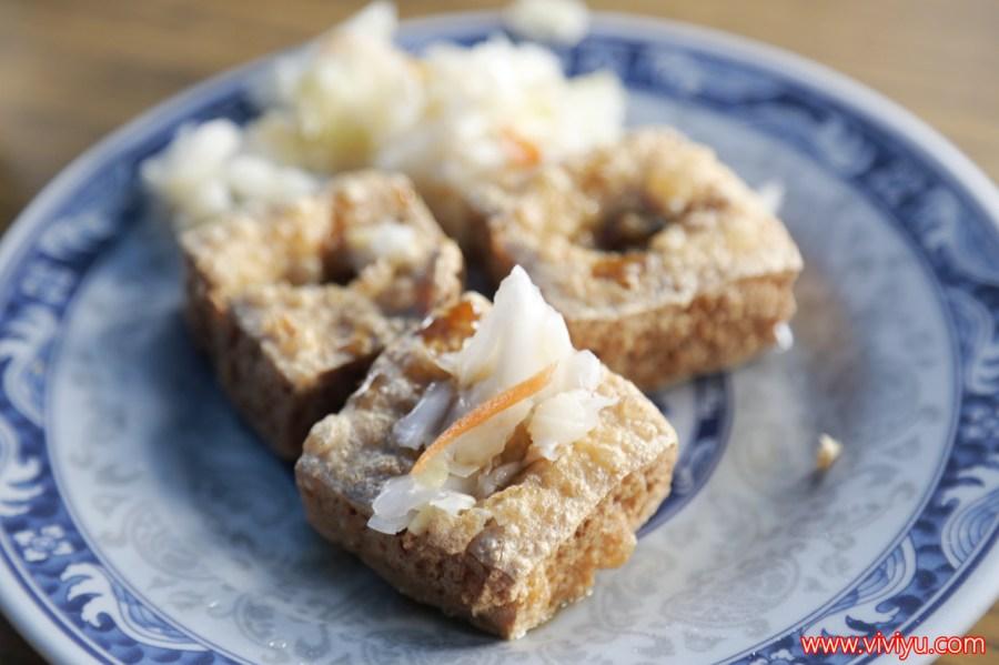 台中小吃,台中美食,林記花蓮瑞穗臭豆腐,自由路小吃,臭豆腐 @VIVIYU小世界
