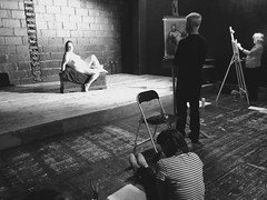 Life drawing at Theatre Utopia @matthewsyard Croydon Sunday 7th February 2016