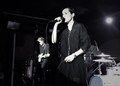 """Savages - 2015 NYC Residency, Mercury Lounge, New York City, NY 1-21-15 • <a style=""""font-size:0.8em;"""" href=""""http://www.flickr.com/photos/79463948@N07/24253430723/"""" target=""""_blank"""">View on Flickr</a>"""