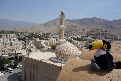 Un bon poste pour admirer la mosquée, le lieu de culte des musulmans du pays mystère n°3