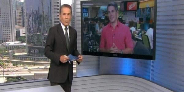 """Áudio falha no """"SPTV"""" e reclamação vaza ao vivo na Globo"""