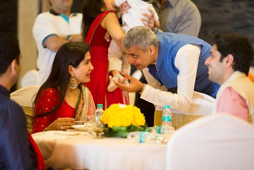 Samdhan and samdhi, in the nitty gritties of the arrangements!
