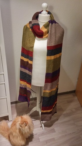 """Doctor Who Scarf • <a style=""""font-size:0.8em;"""" href=""""http://www.flickr.com/photos/92578240@N08/26565947226/"""" target=""""_blank"""">View on Flickr</a>"""