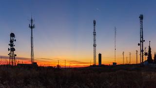 Luna decreciente - Cerro la Atalaya, Úbeda
