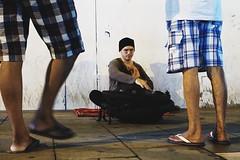 Hang Performer on Street
