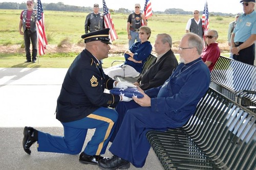 """Receiving Flag for Fallen Soldiers • <a style=""""font-size:0.8em;"""" href=""""http://www.flickr.com/photos/72479515@N06/25054150845/"""" target=""""_blank"""">View on Flickr</a>"""