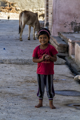 Mädchen in Jojawar
