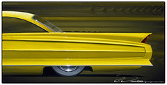 62 Cadillac Yellow