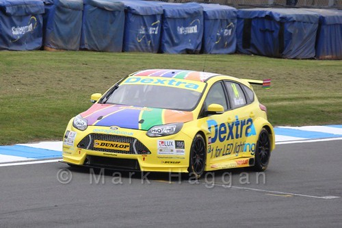 Alex Martin in BTCC Media Launch Event 2016