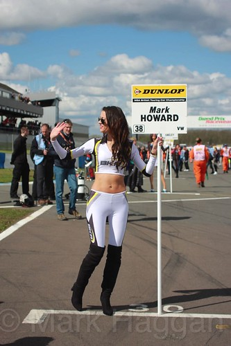 Mark Howard during the BTCC Donington Weekend, April 2016