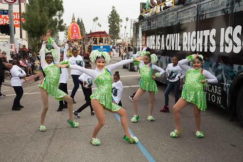 MLK Day Parade - Los Angeles, CA 2016