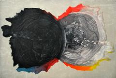 M. MUOLO_Time, acquaforte, acquatinta e xilografia, 2015