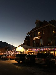 Glenwood Hot Springs on New Year's Eve 2015