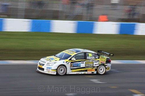 Kelvin Fletcher during the BTCC Donington Weekend, April 2016