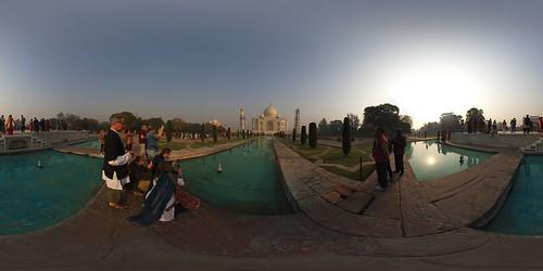 Taj Mahal @ 360°