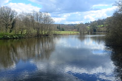 From the boathouse at Winkworth