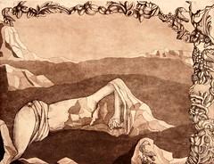 VINCENZA COSTANTINI_Luce del deserto, ceramolle e acquatinta, 1999