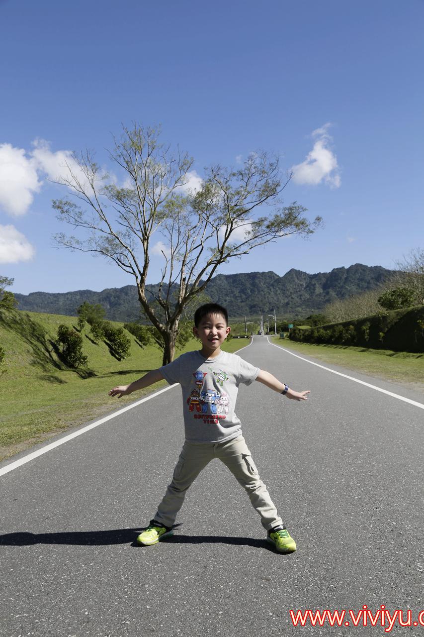 [花蓮.旅遊]光復景點.大農大富平地森林園區~筆直道路似無盡頭般.花繪設計佔地瞭闊.奔跑吧,孩子 @VIVIYU小世界