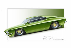 66 Corvair Fastback Concept