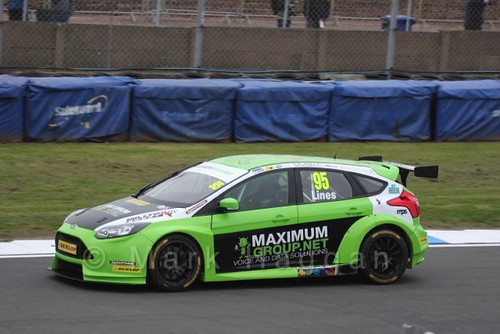 Stewart Lines at the BTCC Media Launch Event 2016
