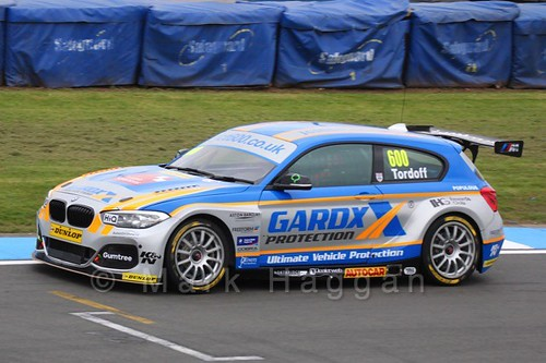 Sam Tordoff at the BTCC Media Launch Event 2016