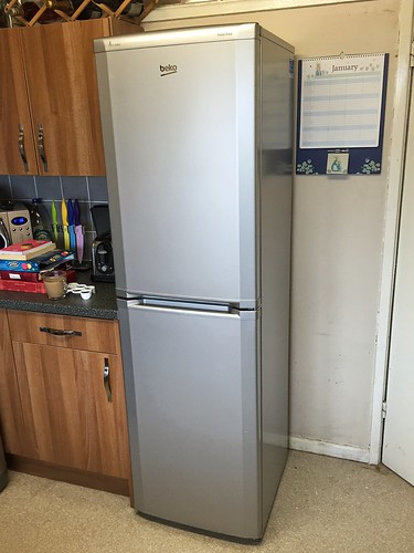 Today is all about...new fridge