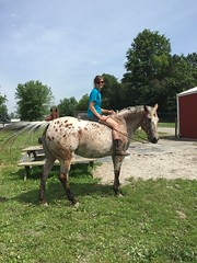"Ashlyn on Mercy an Appaloosa • <a style=""font-size:0.8em;"" href=""http://www.flickr.com/photos/72892197@N03/24877320509/"" target=""_blank"">View on Flickr</a>"