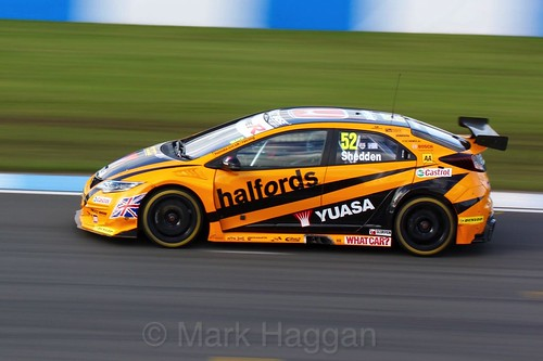 Gordon Shedden during BTCC Donington Weekend, April 2016