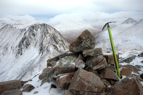 Ice Axe on the Mammores