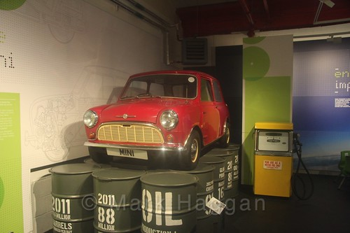 A mini at Coventry Transport Museum