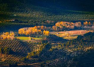 Atardecer otoñal cerca de Segura de la Sierra - Jaén