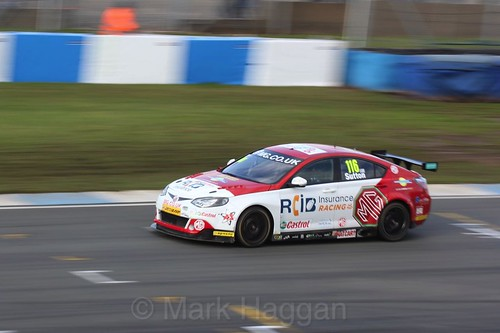 Ashley Sutton during the BTCC Donington Weekend, April 2016