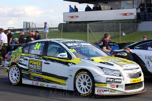 Hunter Abbott during the BTCC Weekend at Donington Park, April 2016