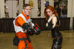 "Xwing pilot and Jedi C2E2 2016 • <a style=""font-size:0.8em;"" href=""http://www.flickr.com/photos/33121778@N02/25660780270/"" target=""_blank"">View on Flickr</a>"