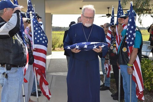 """Receiving Flag for Fallen Soldiers • <a style=""""font-size:0.8em;"""" href=""""http://www.flickr.com/photos/72479515@N06/24758557610/"""" target=""""_blank"""">View on Flickr</a>"""