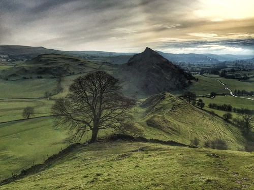59/366 Parkhouse  Hill from Chrome Hill, The Peak District