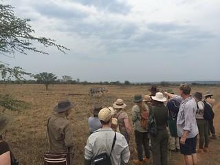 Anton Roberts and volunteers on Ukuwela