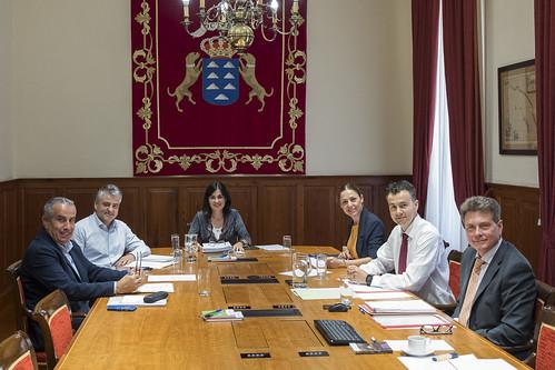 Reunión Mesa del Parlamento