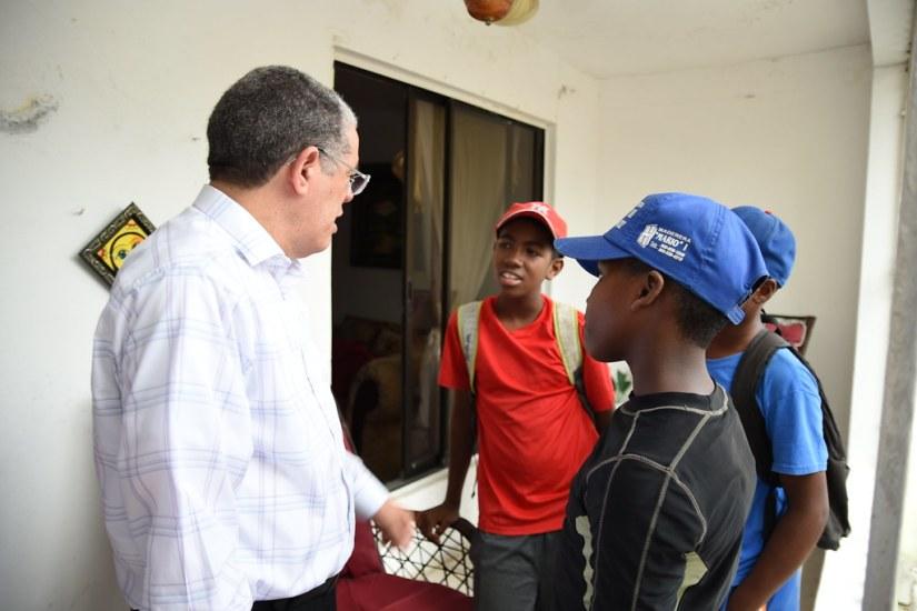 Los Guaricanos, Visita a Dirigentes 08 de junio 2018