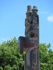 Totem-Pfahl
