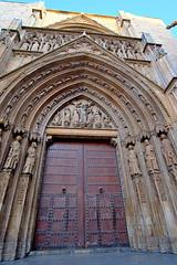 Puerta lateral, Catedral de Valencia