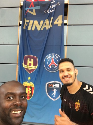 Moraes Davis #ehffinal4 last training session!!