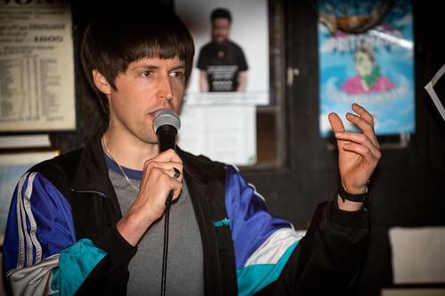 Tom Ward at Hastings Fringe Comedy Festival 2018