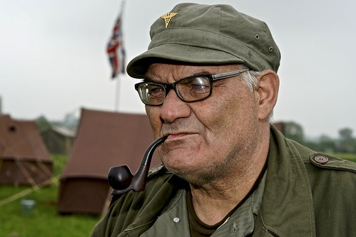 #76 Pipe Smoking Soldier Portraits Of Strangers