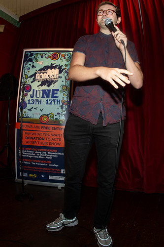 Newcomer competition at Hastings Fringe Comedy Festival 2018