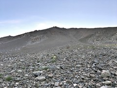 West slope of Mount Columbia at dawn