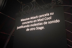 """Massive Attack - Mad Cool 2018 - Viernes - 1 - IMG-6800 • <a style=""""font-size:0.8em;"""" href=""""http://www.flickr.com/photos/10290099@N07/41593457940/"""" target=""""_blank"""">View on Flickr</a>"""