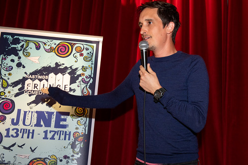 Ben Robson at Hastings Fringe Comedy festival 2018