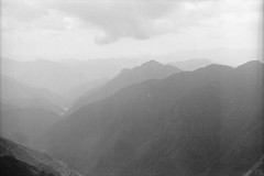 大蛇嵓からの山並み